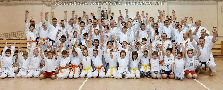 Zgrupowanie karate tradycyjnego Kluczbork 2016